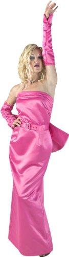 Women's Marilyn Monroe Diva Costume Dress Large Pink
