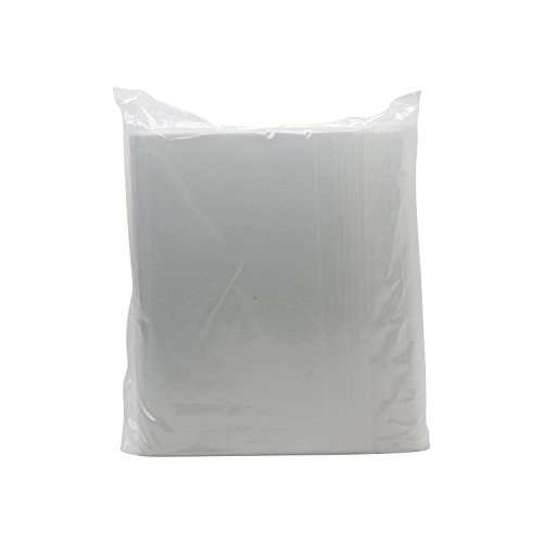 Rok-Pack-of-100-Heavy-Duty-8-x-10-Resealable-4Mil-Thick-Plastic-Big-Clear-Poly-Zip-Lock-Food-Safe-Storage-Bags