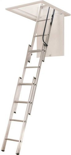 WERNER LADDER AA1510 Ladder Aluminum...