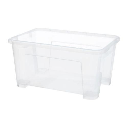 Ikea Samla Scatola Trasparente Amazonit Casa E Cucina