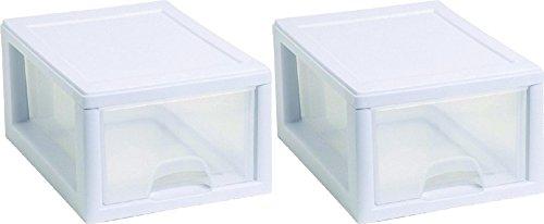 Sterilite 20518006PK2 Sackable Storage Drawer, Pack of 2