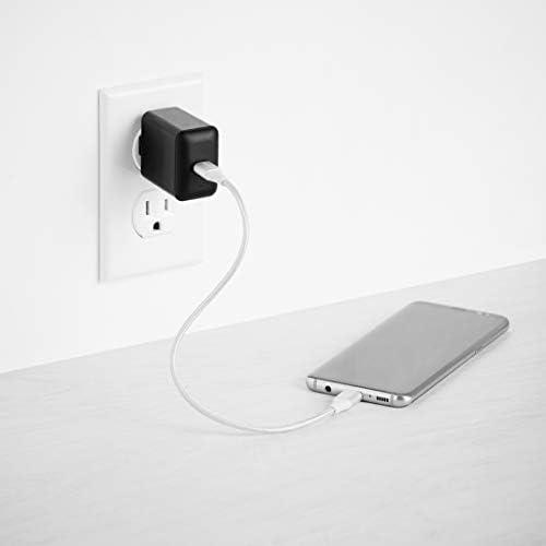 31uTsN84E%2BL. AC  - Amazon Basics 15W One-Port Type-C Wall Charger, US/Black #Amazon