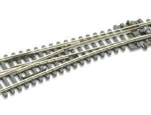 Peco N Scale Code 55 Electrofrog #4 Left-Hand Turnout 31uXy26ODML