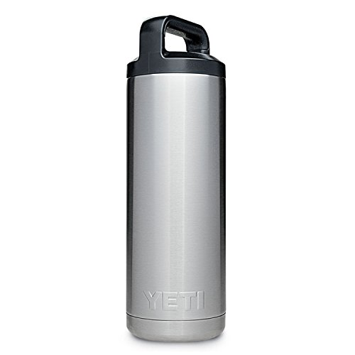 YETI Rambler 18 oz Stainless Steel Vacuum Insulated Bottle with Cap