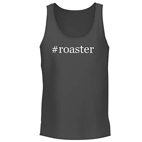 BH Cool Designs #Roaster - Men's Graphic Tank Top, Grey, Medium