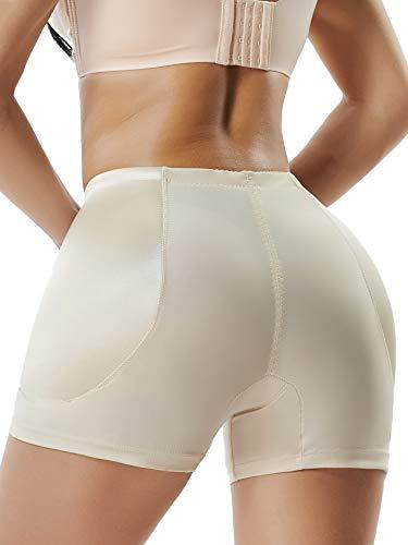 MISS MOLY Women Hip Enhancer Pads Butt Lifter High Waist Shapewear Seamless Boy Short Panties