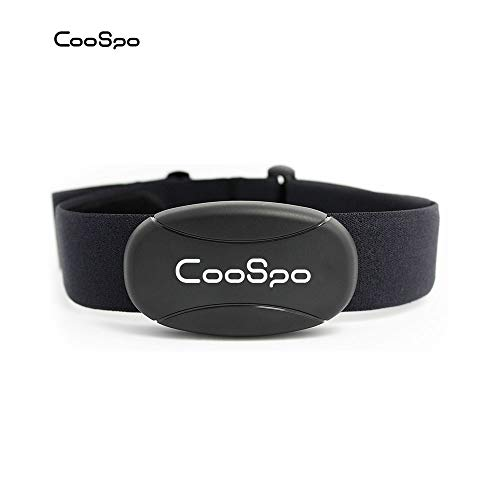 CooSpo Fitness Tracker Heart Rate Monitor Chest Strap IP67 Waterproof with Bluetooth