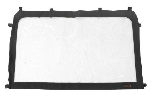 Classic Accessories QuadGear UTV Windshield (Black, Medium, Fits Kawasaki 2500/3000 and Polaris Ranger)