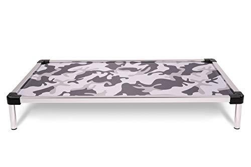 K9 Ballistics Chew Proof Elevated Dog Bed - Chewproof - All Aluminum -...