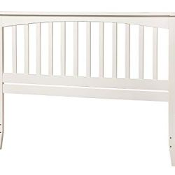 Atlantic Furniture Mission Headboard, Queen, White