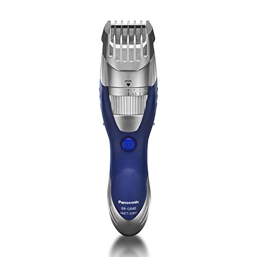 Panasonic Beard Trimmer and Mustache Trimmer for Men ER-GB40-S, Wet/Dry Cordless Hair Trimmer with 19 Adjustable Trim Settings, Washable