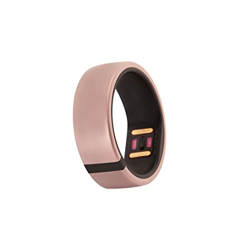 Motiv Ring Fitness, Sleep and Heart Rate Tracker for iPhone and iOS - Waterproof Activity and HR Monitor - Calorie and Step Counter - Pedometer