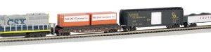 Bachmann Trains – Freightmaster Ready To Run  60 Piece Electric Train Set – N Scale 31w6yAYIf9L