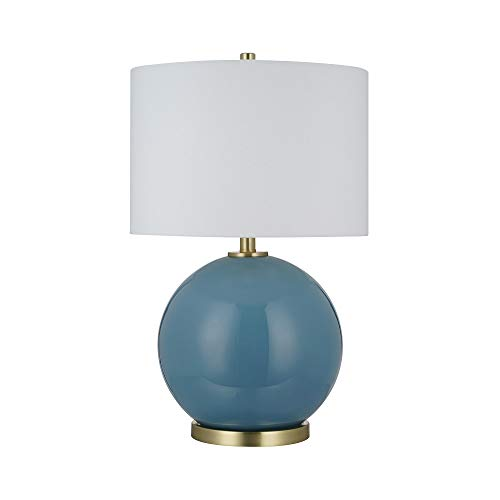 Catalina-Lighting-22085-000-Contemporary-Smooth-Glass-Table-Lamp-with-Metal-Brass-Accents-24-Dusk-Blue