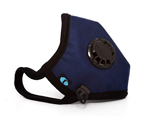 Cambridge Mask Co Pro Anti Pollution N99 Washable Military Grade Respirator with Adjustable Straps - Admiral M Pro
