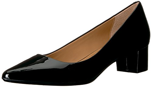 """Pointed Toe Silhouette Wrapped block heel Heel height measures approximately 1.5"""""""
