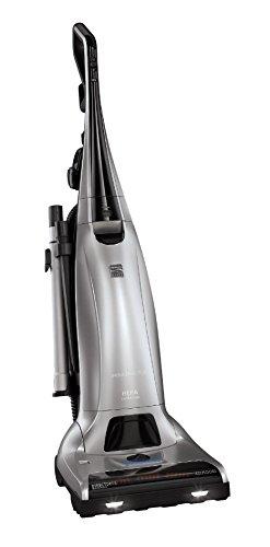 Kenmore Elite 31150 Pet Friendly Bagged Upright Beltless Vacuum w/Pet Handi-Mate, Triple HEPA, 3D Inducer Motor, Telescoping Wand, 5-Position Height Adjustment, 3 Cleaning Tools & AAFA Certified-Black
