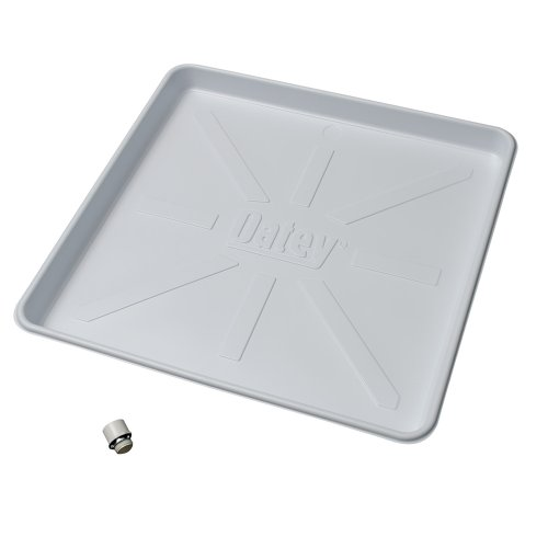 Oatey 34067 Plastic Pan, 32-Inch x 30-Inch, White