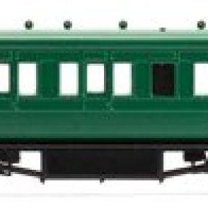 Hornby R4718 SR 58′ Maunsell Rebuilt 6 Compartment Lavatory Brake 3rd 31yJaCNSf4L
