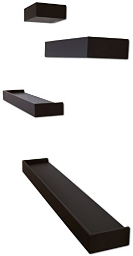 f9323a3be9 Ballucci Modern Ledge Wall Shelves, Set of 4 - Welcome To Style Zee Shop