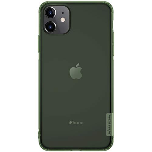 "Nillkin Case for Apple iPhone 11 (6.1"" Inch) Nature Series Back Soft Flexible TPU Green Color 219"