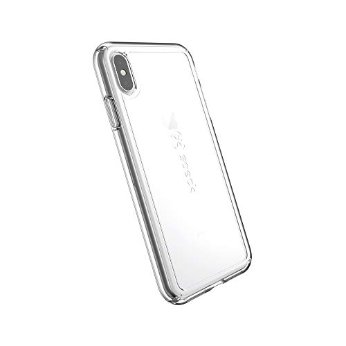 Speck Products GemShell iPhone Xs Max Case, Clear/Clear