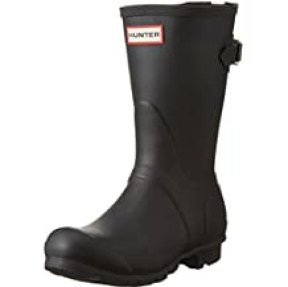 Hunter Women's Original Short Back Adjustable Rain Boot