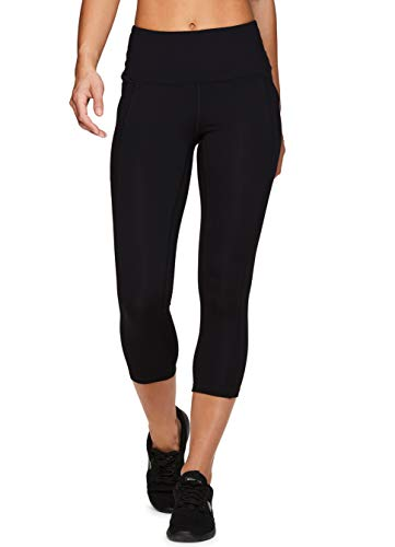 RBX Active Women's Power Hold High Waist Athletic Leggings with Pockets