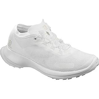 Salomon Women's SENSE FEEL W Trail Running Shoes, White How Many Miles Running Shoes