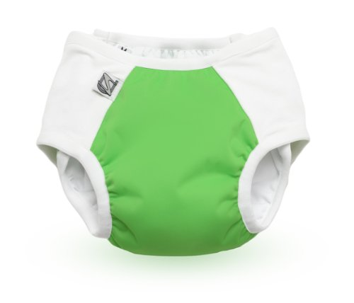 Super Undies Potty Training Pants with Snaps Green Medium