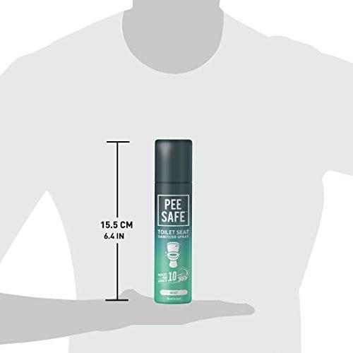 Pee Safe Toilet Seat Sanitizer Spray - 75 ml 4