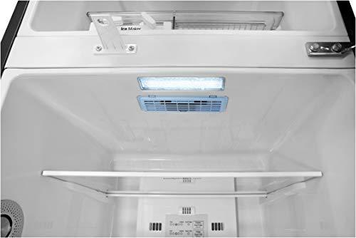 31zYzwKlnPL LG 284 L 3 Star Inverter Frost-Free Double Door Refrigerator (GL-T302RPZN, Shiny Steel)