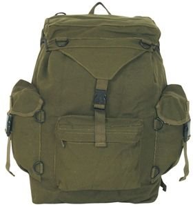 Fox Outdoor Products Australian Style Rucksack, Olive Drab