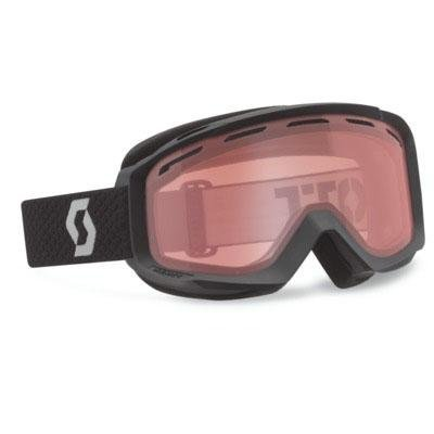 SCOTT US OTG Habit Ski Goggles, Black, Amplifier Lens