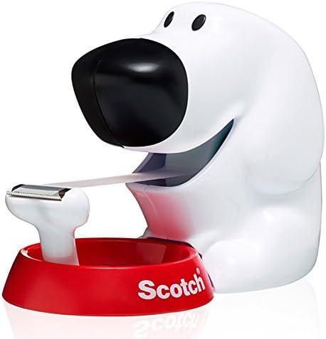 Scotch – Dispensador cinta con diseño de perro (incluye cinta adhesiva)