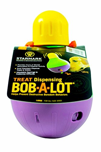 StarMark Bob-A-Lot Interactive Dog Toy 1