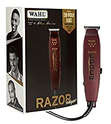 Wahl Professional 5-Star Razor Edger #8051 – Great for Barbers and Stylists – Razor Close Trimming and Edging – No Heat Build Up – Strong Electromagnetic Motor – Accessories Included  Image