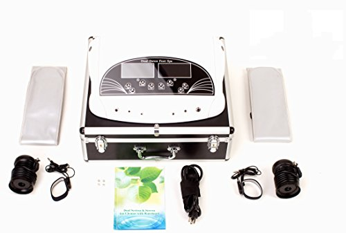 OILEUS Professional Ionic Foot Bath Detox Machine with Foot Massage System(Large Tub with Display Control,Ionic Foot Cleanser)