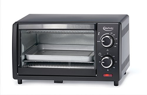 Betty Crocker BC-1664CB Toaster Oven, 0.9 L, Black by Betty Crocker