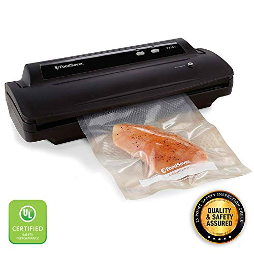 FoodSaver V2244 Vacuum Sealer Machine with Starter Kit | Safety Certified