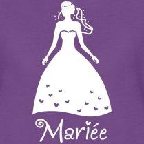 Spreadshirt-EVJF-Future-Marie-Silhouette-T-Shirt-Premium-Femme