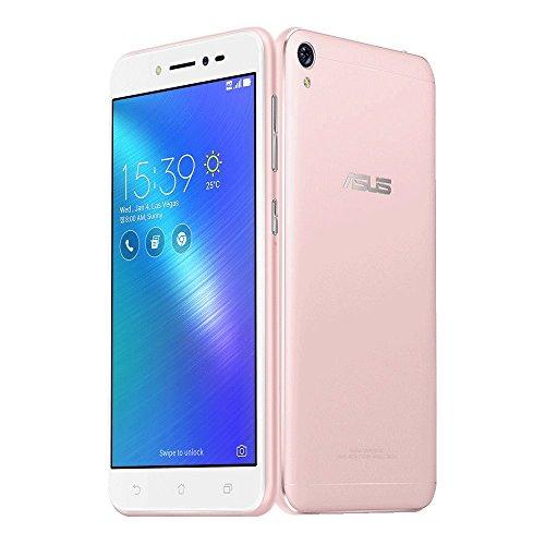 ASUS ZenFone Live ZB501KL 16GB ROM 2GB RAM 5.0-Inch 13MP 4G LTE Dual SIM FACTORY UNLOCKED International Stock No Warranty (ROSE PINK)