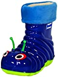 Children's Waterproof Rain Boots Cartoon Animals Toddler/Little Kid (10 M US Toddler), Blue