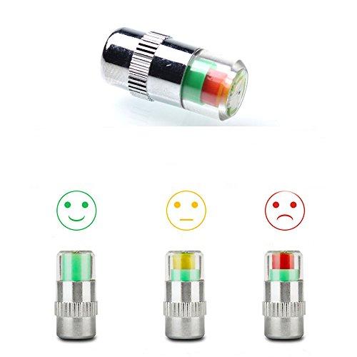 ANKIA-Car-Tire-Pressure-Monitor-Valve-Stem-Caps-Sensor-Indicator-3-Color-Eye-Alert-4-Pcs