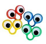 Rhode Island Novelty Large Eye Finger Puppets (12/Pack) Novelty
