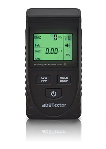 DBTector EMF Meter Electric And Magnetic Field Meter Detect Radiation From Appliances, Computers, Electrical Boxes, Electrical Wires, High Power Transmission Lines