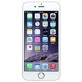 Apple iPhone 6, Fully Unlocked, 64GB - Silver (Renewed)