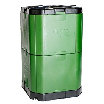 Motherson Auto Parts Aerobin Insulated Composter (400 Litre, Green and Grey) 2