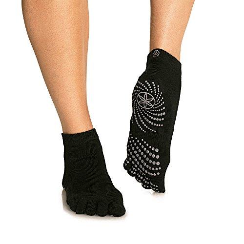 Gaiam Grippy Yoga Socks for Extra Grip...