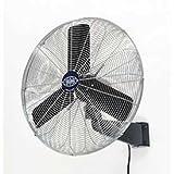 Oscillating Wall Mount Fan, 24